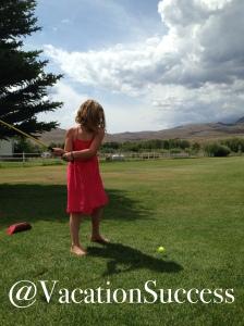 Mackey Golfing