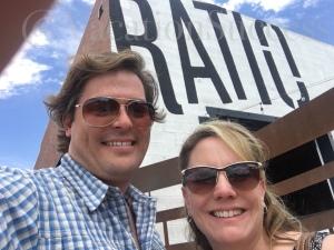 Ratio Beer Works selfie.