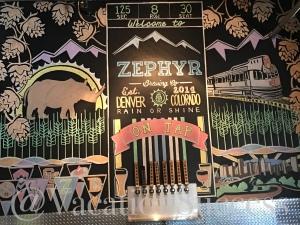 Zephyr Brewery's Blood Orange Pale.