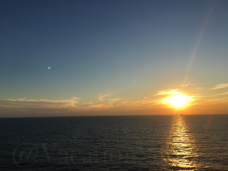 The Gulf of Mexico at Sunset